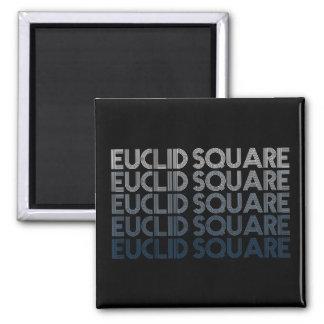 Euclid Square Gradient Square Magnet