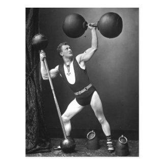 Eugen Sandow Strongman Postcard