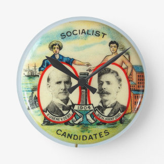 Eugene Debs wall clock