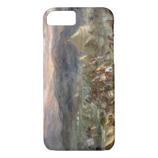 Eugene Delacroix - Botzaris Surprises the Turkish iPhone 7 Case