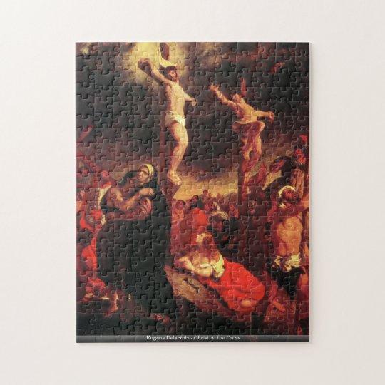 Eugene Delacroix - Christ At the Cross puzzle