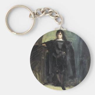 Eugene Delacroix- Self Portrait as Hamlet Key Ring