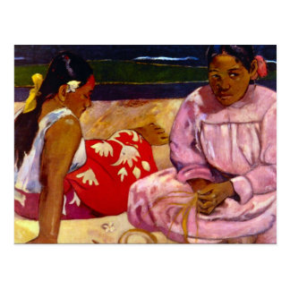 Eugène Henri Paul Gauguin - Women of Tahiti Postcard