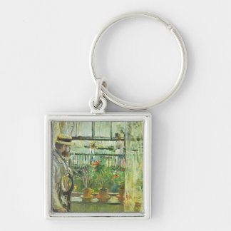 Eugene Manet on the Isle of Wight by Morisot Key Chain
