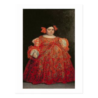 Eugenia Martinez Vallejo, called La Monstrua (oil Postcard