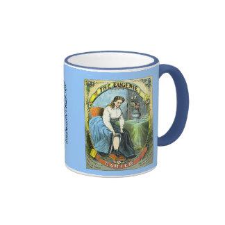 Eugenie Garter Ringer Coffee Mug