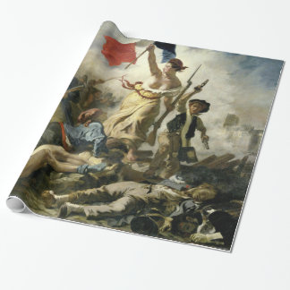 Eugne Delacroix Liberty Leading the People Wrapping Paper