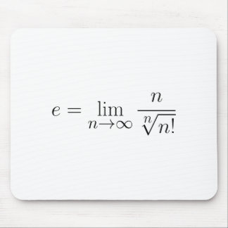 Euler's constant by Stirling's equation Mouse Pad