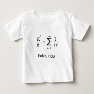 Euler's formula for Pi Baby T-Shirt