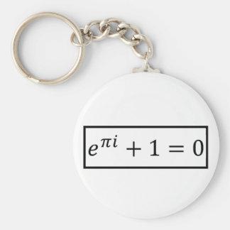 Euler's Formula keychain