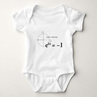 Euler's Identity Math Formula Baby Bodysuit