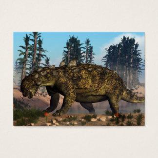 Euoplocephalus dinosaur - 3D render Business Card