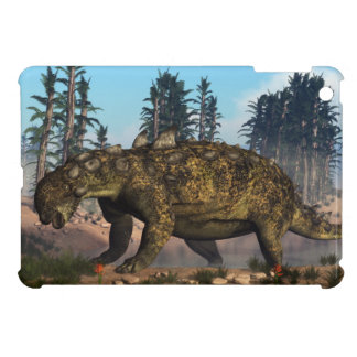 Euoplocephalus dinosaur - 3D render Cover For The iPad Mini