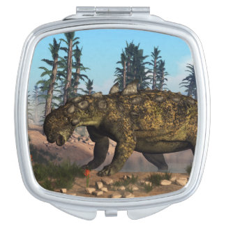 Euoplocephalus dinosaur - 3D render Mirrors For Makeup