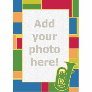 Euphonium Colorblocks Photo Sculpture