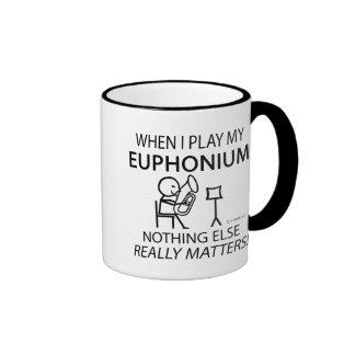 Euphonium Nothing Else Matters Coffee Mugs
