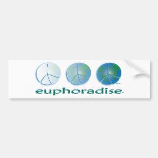euphoradise FADE w Bumper Sticker