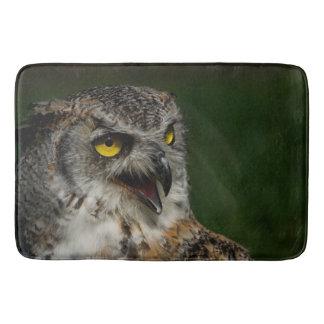 Eurasian eagle-owl bath mat