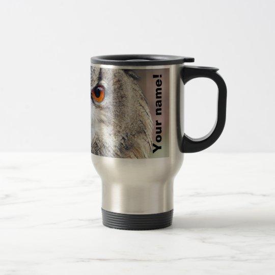 Eurasian Eagle-Owl, Uhu 2.2.2(P) Travel Mug
