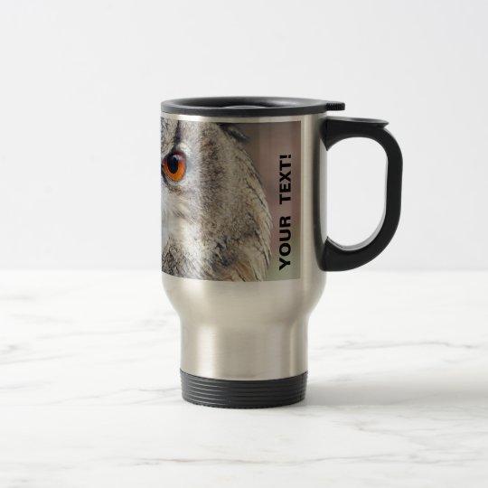Eurasian Eagle-Owl, Uhu 2.2.P Travel Mug