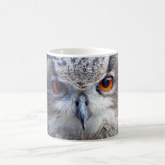 Eurasian Eagle-Owl, Uhu 2 Coffee Mug