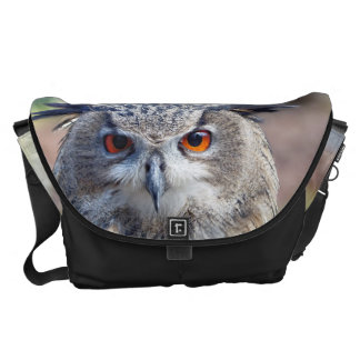 Eurasian Eagle-Owl, Uhu Messenger Bag