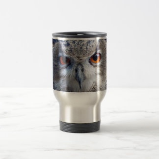 Eurasian Eagle-Owl, Uhu Travel Mug
