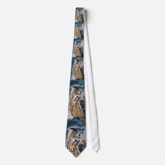 Eurasian Owl Necktie
