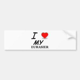 eurasier bumper sticker