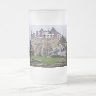 Eureka Crescent Frosted Glass Beer Mug