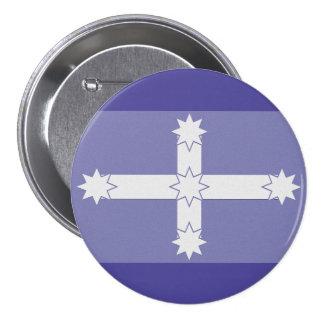 Eureka Flag 7.5 Cm Round Badge