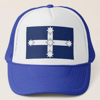Eureka Flag blue/white truckers cap