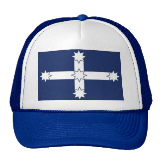 Eureka Flag blue/white truckers cap