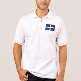eureka flag polo shirt