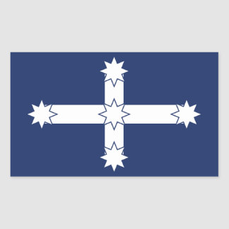 Eureka Flag Rectangular Sticker