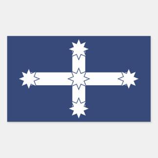 Eureka Flag Rectangular Sticker