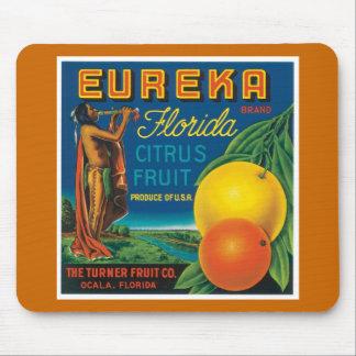 Eureka Florida Citrus Fruit Mouse Pad