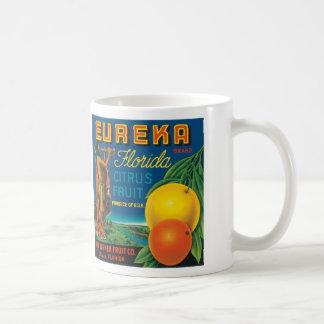 Eureka Florida Citrus Fruit Coffee Mugs