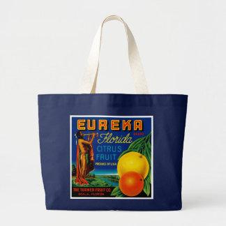 Eureka Florida Citrus Large Tote Bag