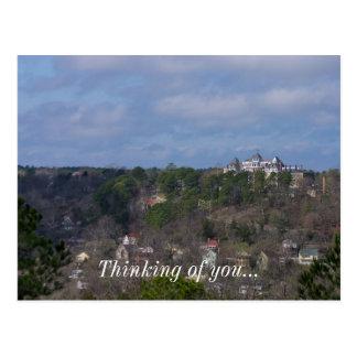 Eureka Hill Side Postcard