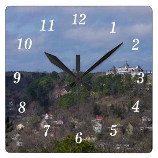 Eureka Hill Side Square Wall Clock