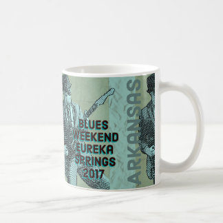 Eureka Springs Blues Weekend Coffee Mug 2017