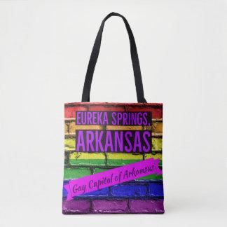 Eureka Springs Gay Capital of Arkansas tote