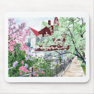 Eureka Springs Victorian House Mouse Pad