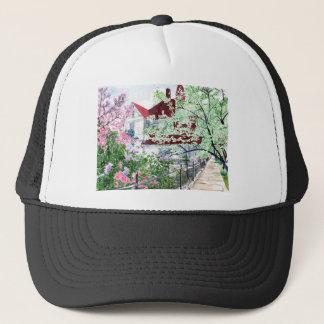 Eureka Springs Victorian House Trucker Hat