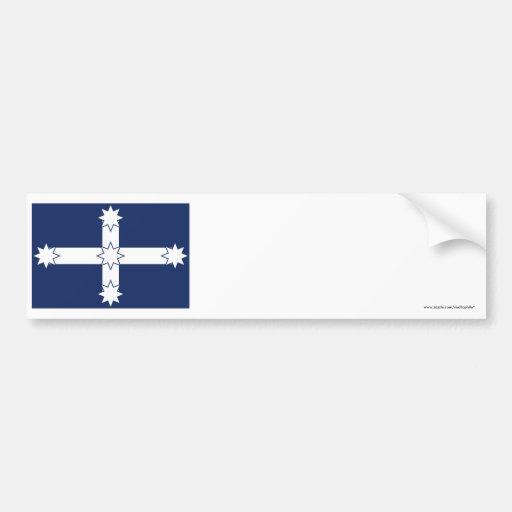 Eureka Stockade Flag Bumper Sticker