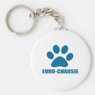 EURO-CHAUSIE CAT DESIGNS KEY RING