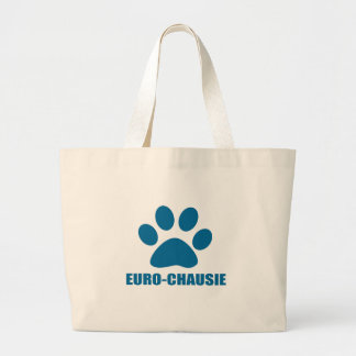 EURO-CHAUSIE CAT DESIGNS LARGE TOTE BAG