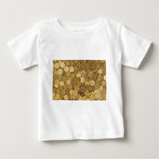 Euro Coins Currency Money Yellow Market Europe Baby T-Shirt