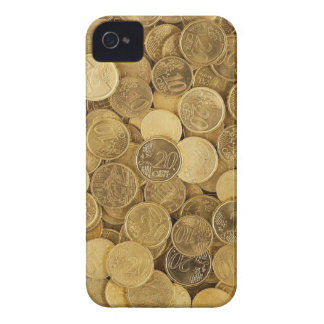 Euro Coins Currency Money Yellow Market Europe iPhone 4 Covers